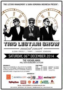 Trio Lestari Show musical concert
