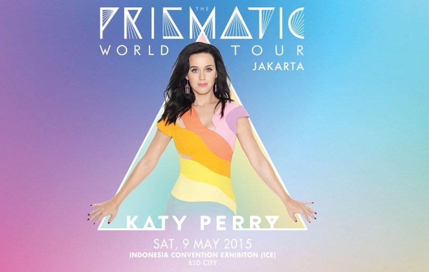 Katy Perry Prismatic World Tour 2015 in Jakarta