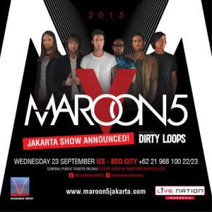 maroon 5 world tour jakarta