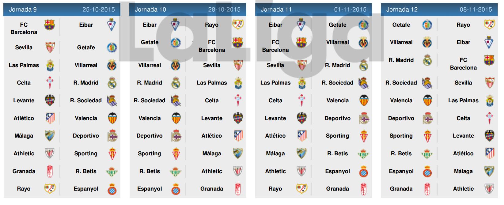 Jadwal Liga Spanyol 2015-2016 3