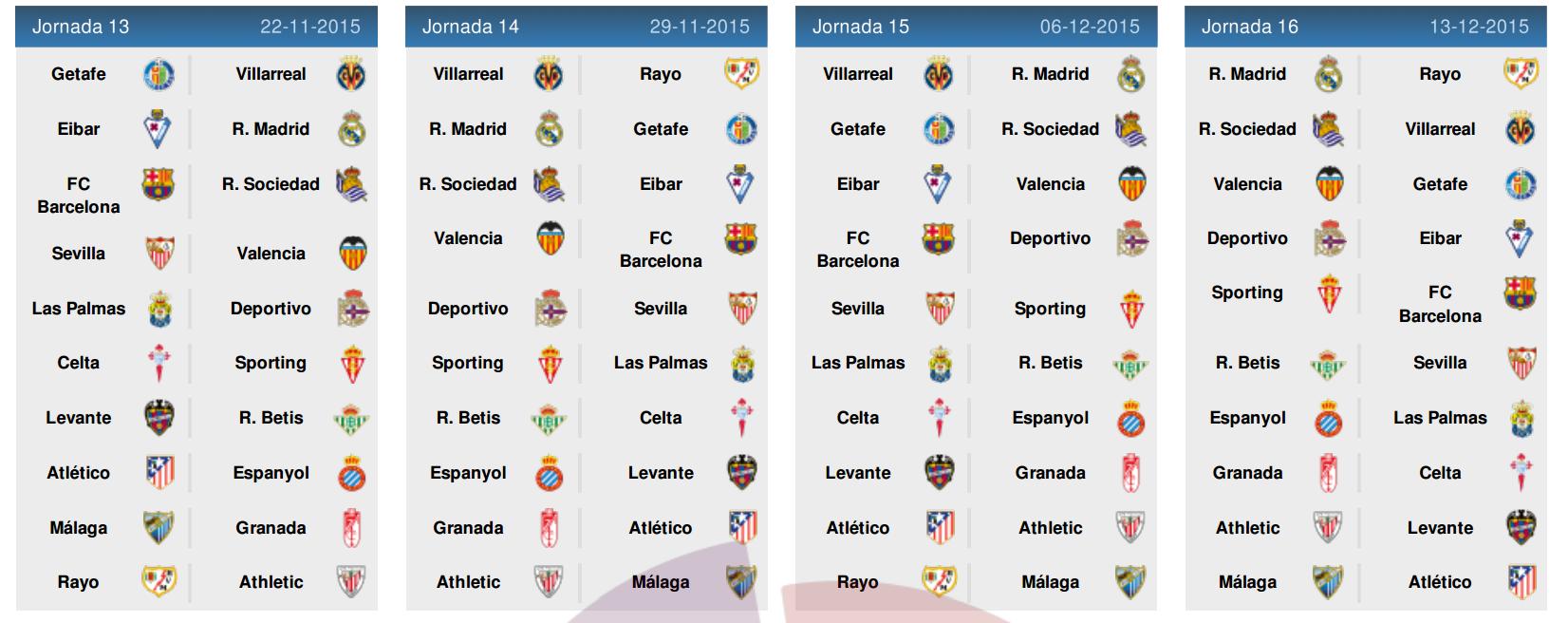 Jadwal Liga Spanyol 2015-2016 4