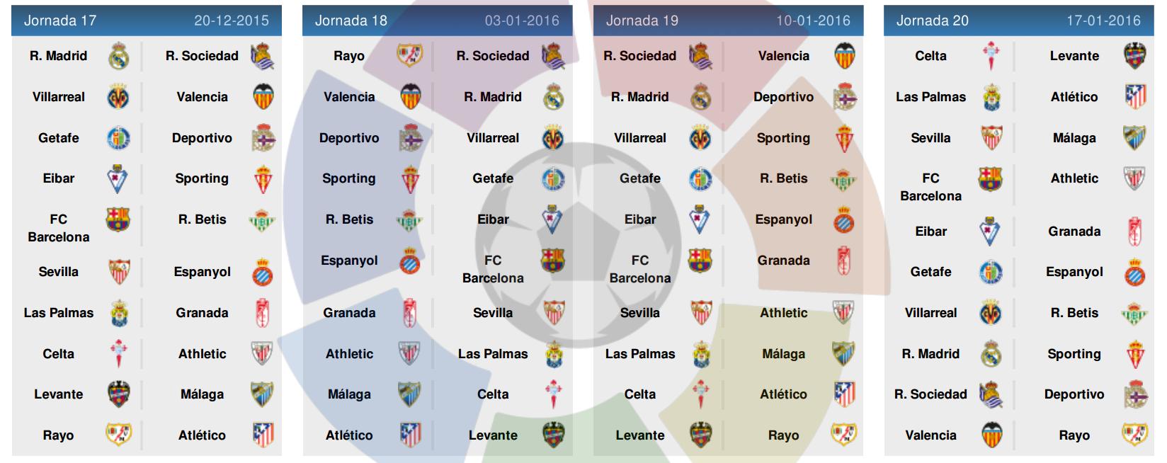 Jadwal Liga Spanyol 2015-2016 5