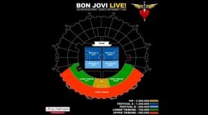 bon jovi live seat map