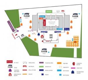 INDONESIA JAZZ FESTIVAL 2015 - layoutplan
