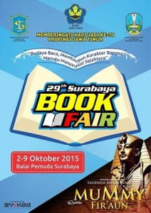 29 th surabaya book fair