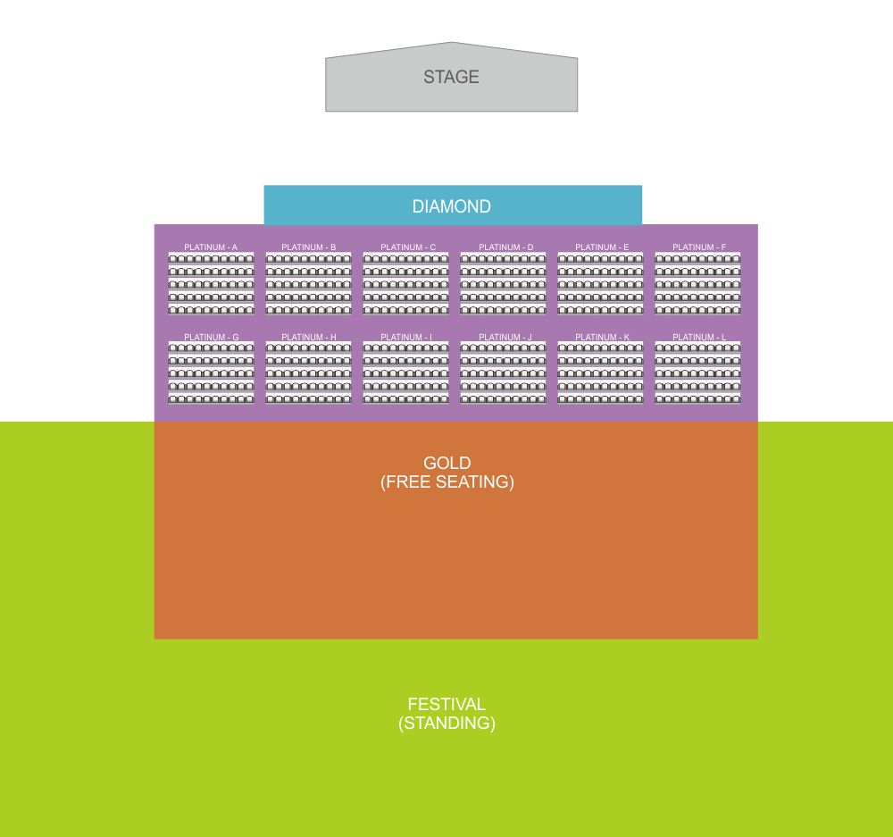 prambanan jazz international music festival- layout plan