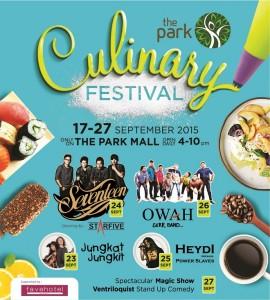 the park mall solo culinary festival