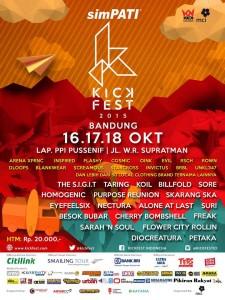 Kickfest 2015 di Bandung