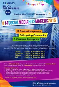 #14socialmediahitsmakers2015