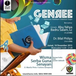 GENREE (Generasi Rabbani Edukasi Expo)