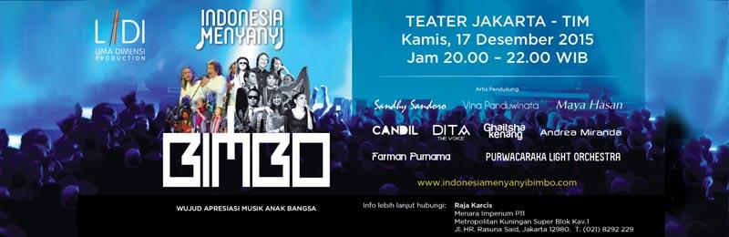 Konser Indonesia Menyanyi Bimbo 2015