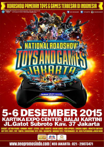 National Roadshow Toys and Games Expo 2015 jakarta