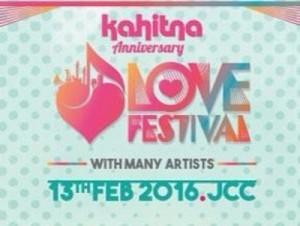 kahitna anniversary love festival 2015