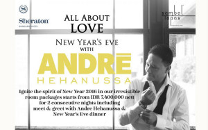 New Year Eve with Andre Hehanussa
