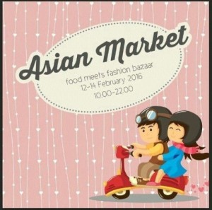 Asian Market -food meet fashion bazaar-