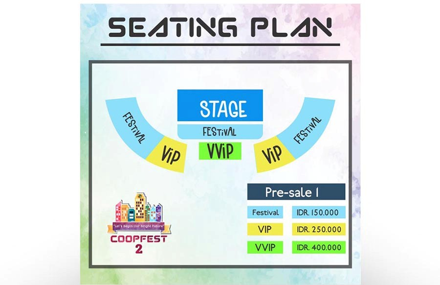 Coopfest 2 seating plan 2