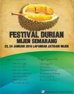 Festival Duren Mijen Semarang