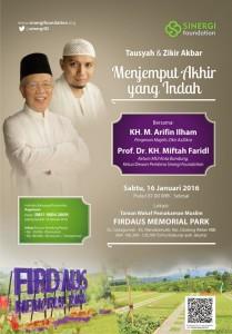 Tausyah dan Zikir Akbar bersama KH. M. Arifin Ilham