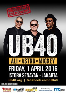 UB40 Greatest Hits Live in Concert