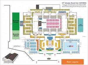 islamic book fair 2016 lantai 1