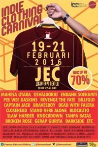 Indie Clothing Carnival - Jogja