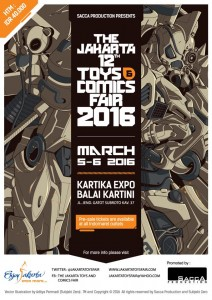 The Jakarta Toys and Comics Fair 2016