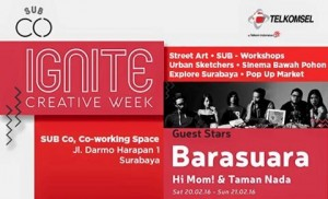 ignite creative week - surabaya