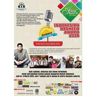 indonesian nasheed awards 2016
