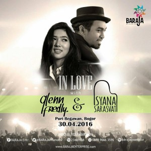 In Love with Glenn Fredly and Isyana Sarasvati