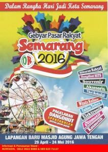 Gebyar Pasar Rakyat Semarang 2016