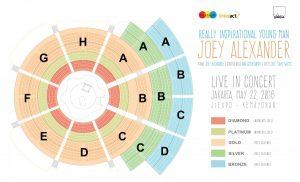 joey alexander live in concert