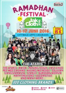 Ramadhan Festival with JakCloth 2016