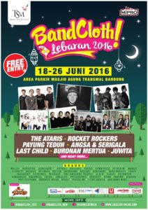 BandCloth Lebaran 2016
