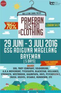 Pameran Distro and Clothing - Lebaran Sale - Magelang
