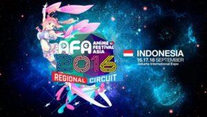 Anime Festival ASia Indonesia 2016