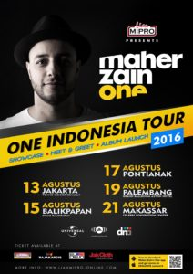 Copy of Maher Zain One Indonesia Tour 2016