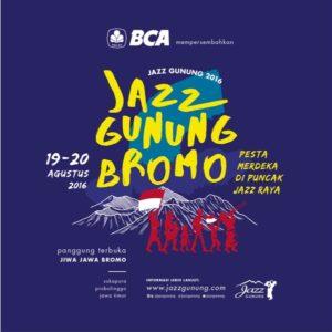 Jazz Gunung Bromo 2016 poster