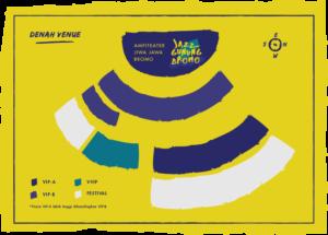 Seatmap Jazz Gunung Bromo 2016
